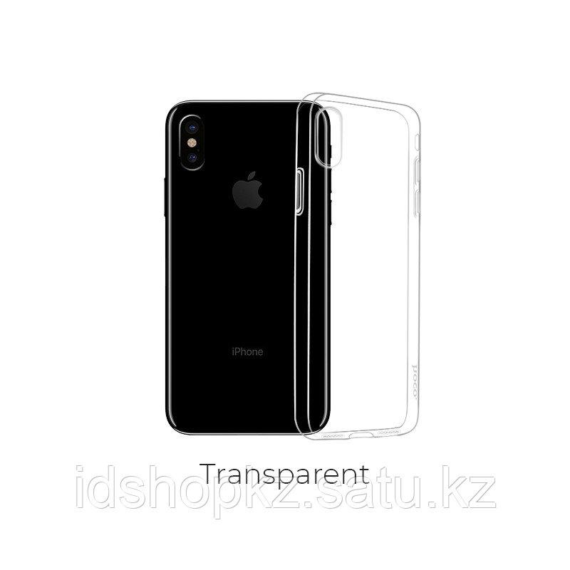 Чехол HOCO TPU Light Series для iPhone X прозрачный, 0,8 мм - фото 1
