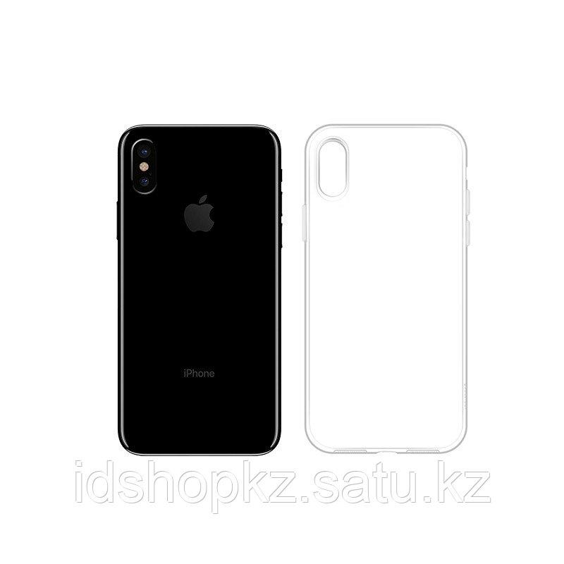 Чехол HOCO TPU Light Series для iPhone X прозрачный, 0,8 мм - фото 2