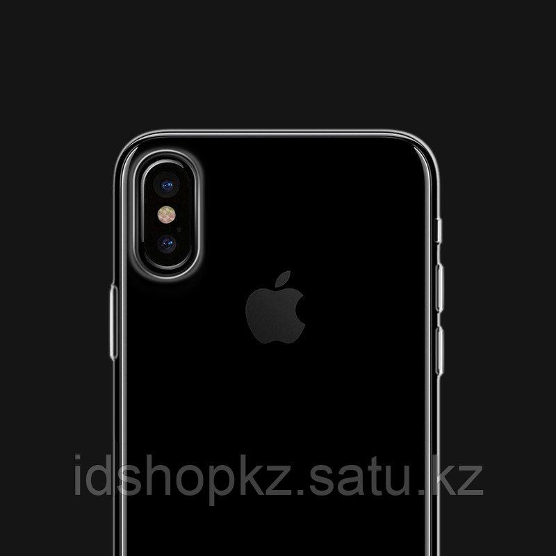 Чехол HOCO TPU Light Series для iPhone X прозрачный, 0,8 мм - фото 3