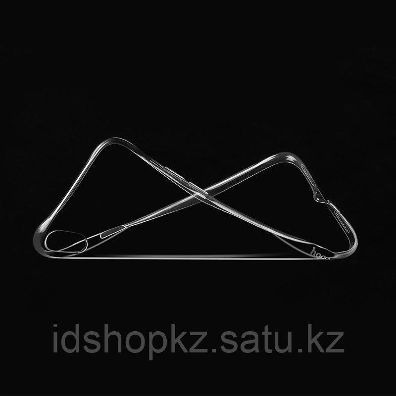 Чехол HOCO TPU Light Series для iPhone X прозрачный, 0,8 мм - фото 4