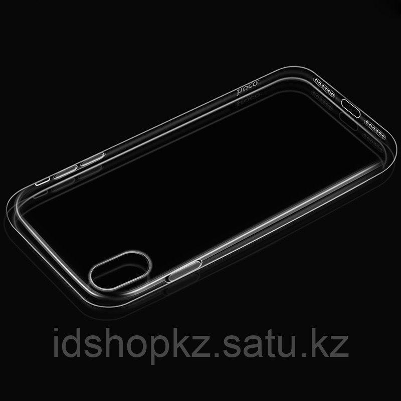 Чехол HOCO TPU Light Series для iPhone X прозрачный, 0,8 мм - фото 6