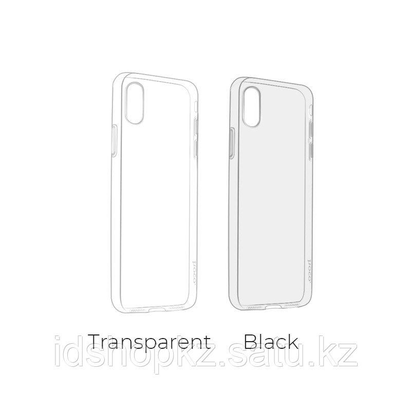 Чехол HOCO TPU Light Series для iPhone X прозрачный, 0,8 мм - фото 7