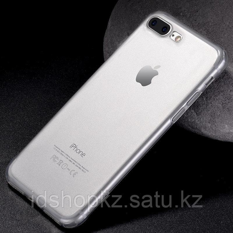Чехол HOCO TPU Light Series для iPhone 7+ черный прозрачный, 0,7 мм - фото 2