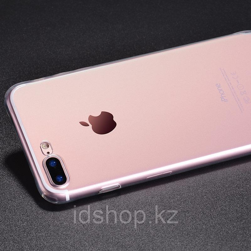 Чехол HOCO TPU Light Series для iPhone 7+ прозрачный, 0,7 мм - фото 4