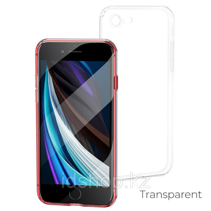Чехол HOCO TPU Light Series для iPhone 7 прозрачный, 0,7 мм - фото 1