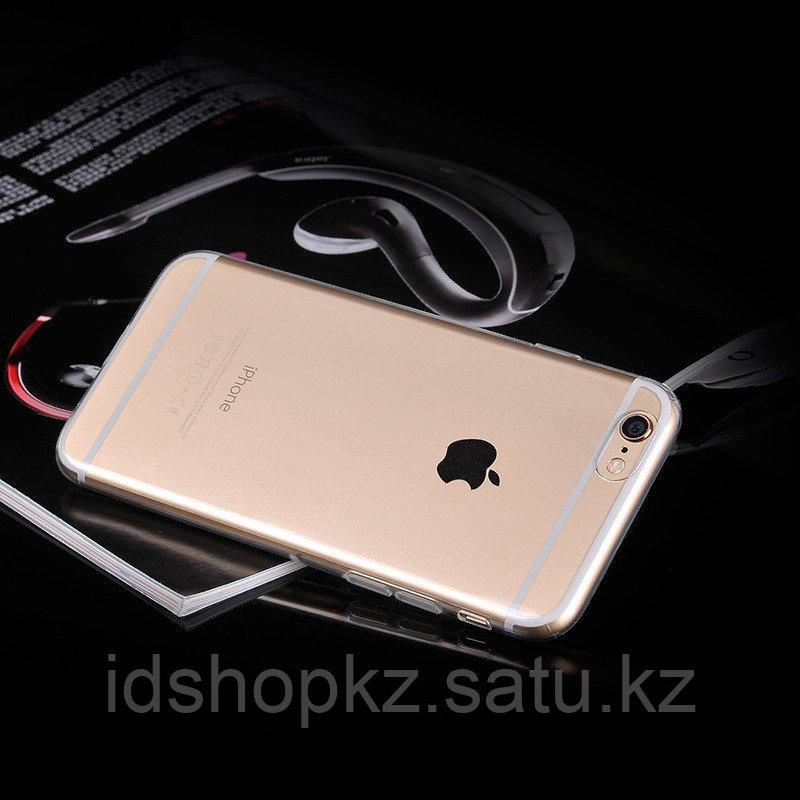 Чехол HOCO TPU Light Series для iPhone 6+/6s+, черный прозрачный, 0,6 мм - фото 4