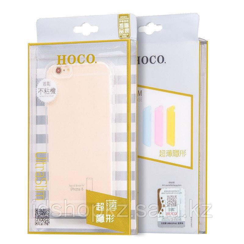 Чехол HOCO TPU Light Series для iPhone 6+/6s+, черный прозрачный, 0,6 мм - фото 6