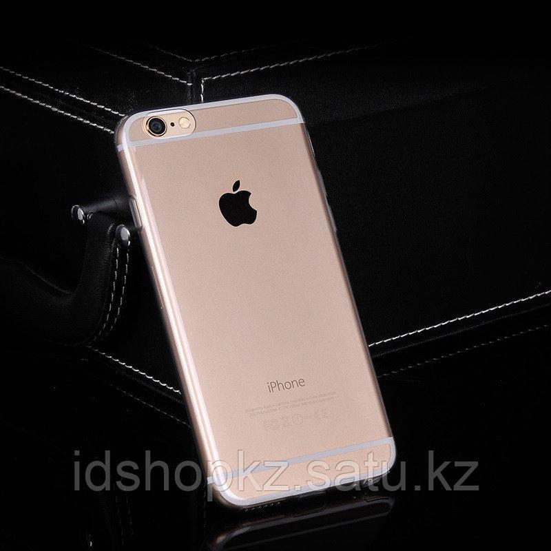 Чехол HOCO TPU Light Series для iPhone 6/6s, черный прозрачный, 0,6 мм - фото 2