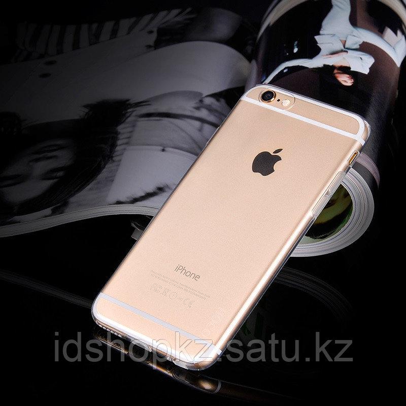 Чехол HOCO TPU Light Series для iPhone 6/6s, черный прозрачный, 0,6 мм - фото 3
