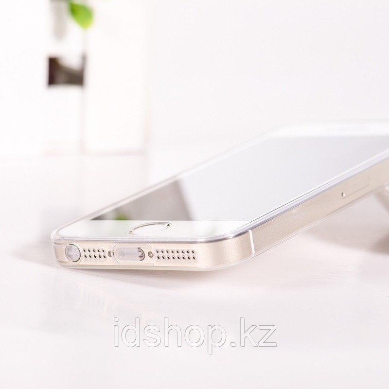 Чехол HOCO TPU Light Series для iPhone 5/5s/SE, прозрачный, 0,6 мм - фото 8