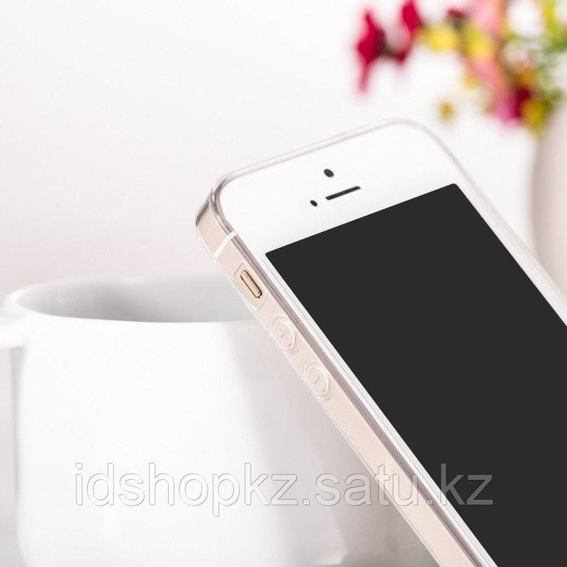 Чехол HOCO TPU Light Series для iPhone 5/5s/SE, прозрачный, 0,6 мм - фото 9
