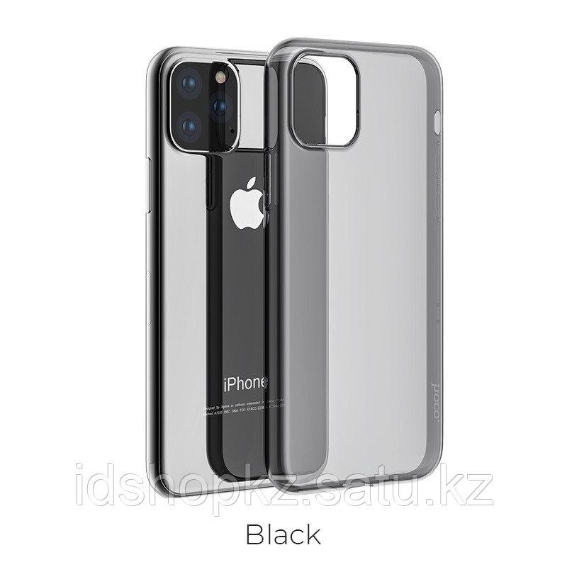 Чехол HOCO TPU Light Series для iPhone 11 Pro, черный прозрачный, 0,8 мм - фото 1
