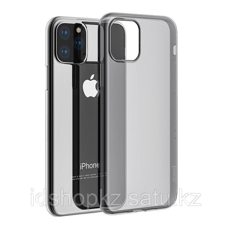 Чехол HOCO TPU Light Series для iPhone 11 Pro, черный прозрачный, 0,8 мм - фото 2