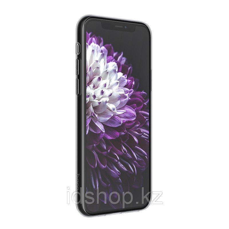 Чехол HOCO TPU Light Series для iPhone 11 Pro, черный прозрачный, 0,8 мм - фото 3
