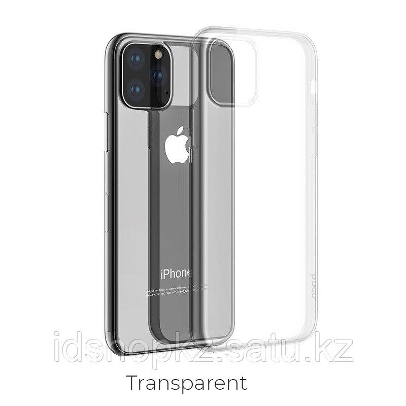 Чехол HOCO TPU Light Series для iPhone 11 Pro, прозрачный, 0,8 мм - фото 1