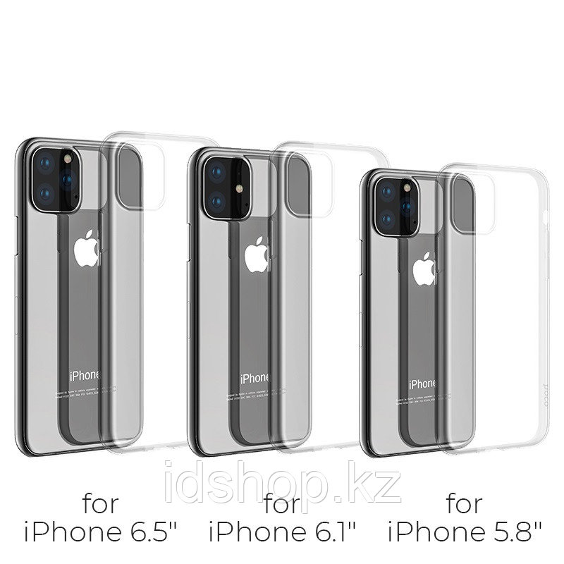 Чехол HOCO TPU Light Series для iPhone 11 Pro, прозрачный, 0,8 мм - фото 7