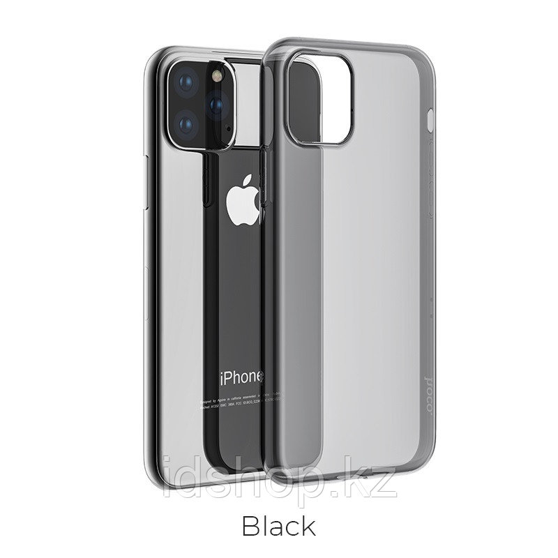 Чехол HOCO TPU Light Series для iPhone 11 Pro Max, черный, 0,8 мм - фото 1