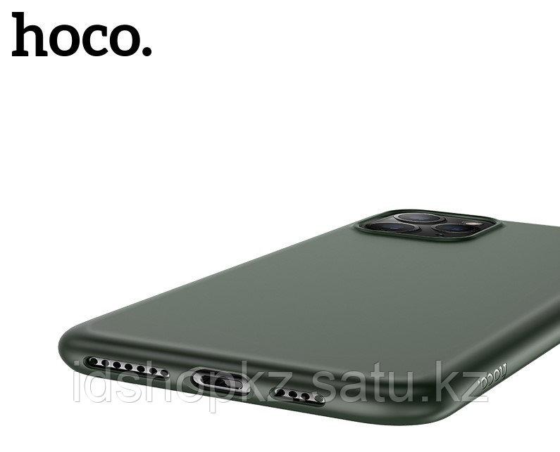 Чехол HOCO TPU Fascination Series для iPhone 11 Pro, Темно-зеленый, 0,8 мм - фото 2