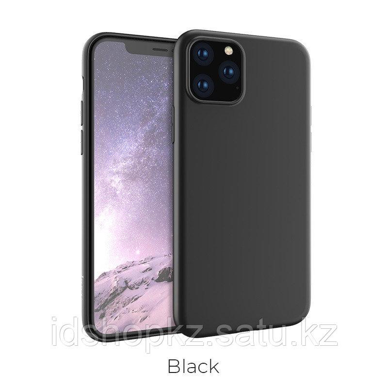 Чехол HOCO TPU Fascination Series для iPhone 11 Pro Max, черный, 0,8 мм - фото 1