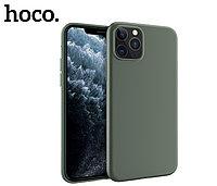 Чехол HOCO TPU Fascination Series для iPhone 11 Pro Max, Темно-зеленый, 0,8 мм