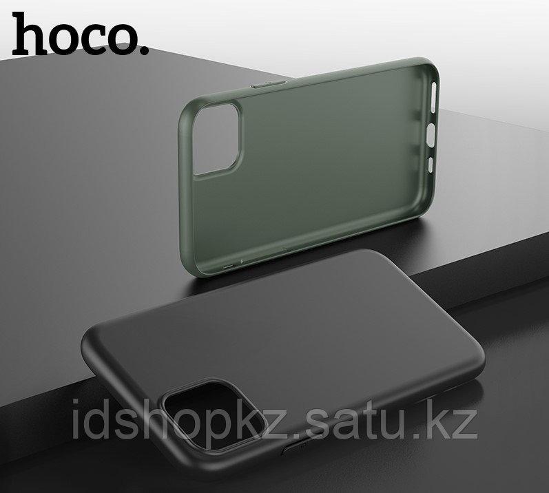 Чехол HOCO TPU Fascination Series для iPhone 11 Pro Max, Темно-зеленый, 0,8 мм - фото 4