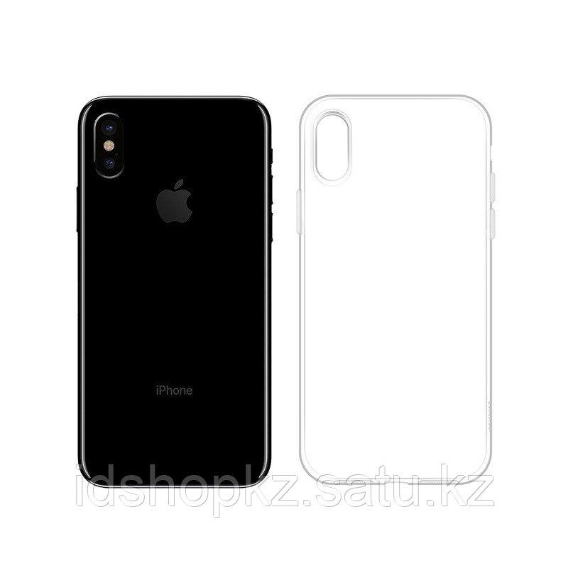 Чехол HOCO TPU Crystal clear Series для iPhone XS прозрачный, 0,8 мм - фото 3