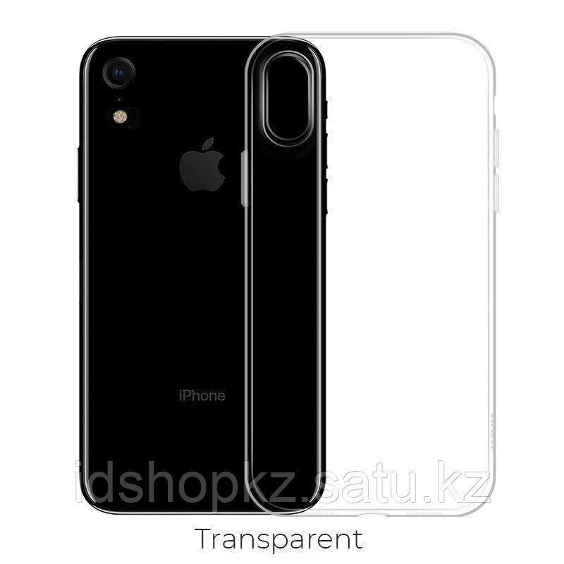 Чехол HOCO TPU Crystal clear Series для iPhone XR прозрачный, 0,8 мм - фото 1