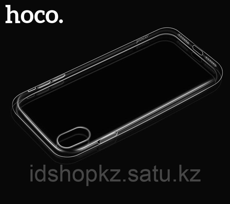 Чехол HOCO TPU Crystal clear Series для iPhone X прозрачный, 0,8 мм - фото 3