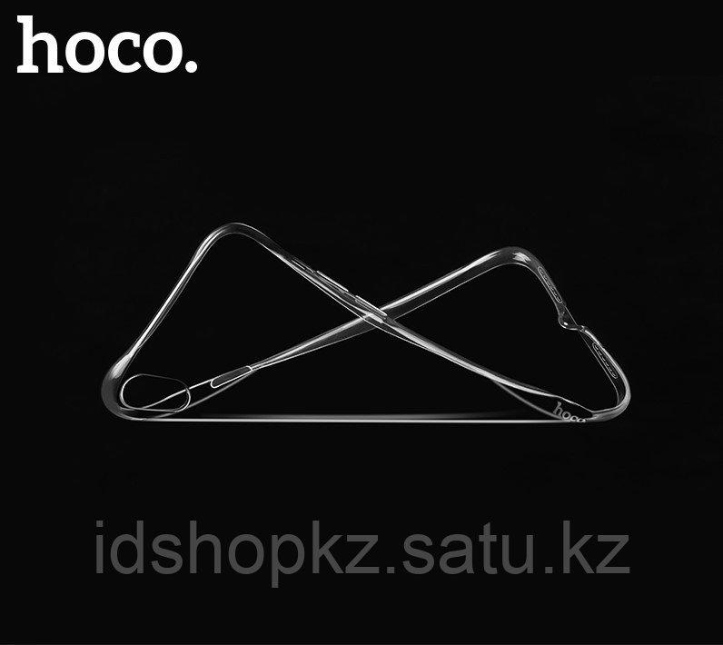 Чехол HOCO TPU Crystal clear Series для iPhone X прозрачный, 0,8 мм - фото 4