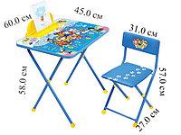 Комплект Ника Щенячий патруль Детский складной стол и стул