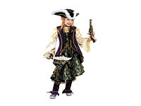 Карнавальный костюм Капитанша размер 30 Батик