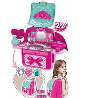 Игрушка рюкзак для сюжетных и ролевых игр Набор аксессуаров для девочки