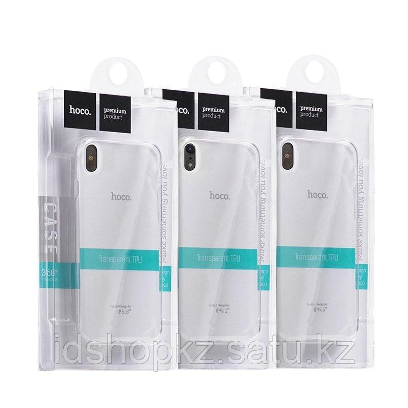 Чехол Hoco Light TPU для iPhone XS, черный - фото 2
