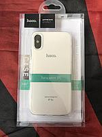 Чехол Hoco Light TPU для iPhone XS, прозрачный