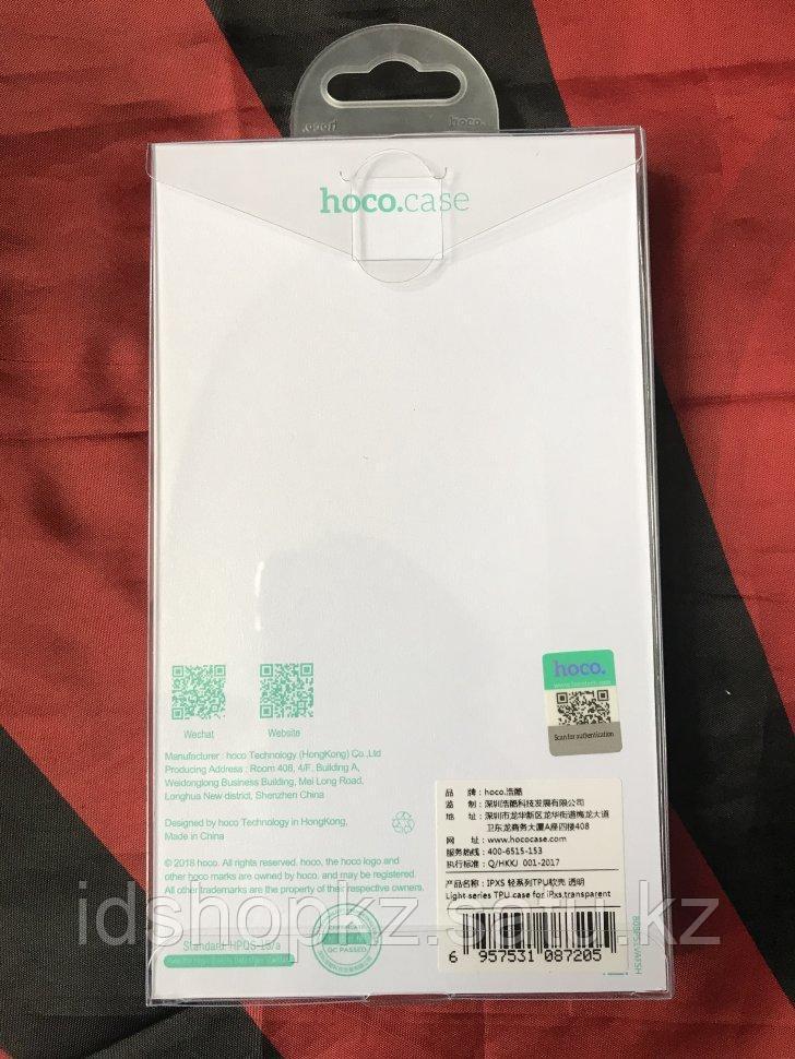 Чехол Hoco Light TPU для iPhone XS, прозрачный - фото 2