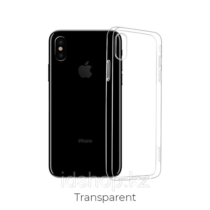 Чехол Hoco Light TPU для iPhone XS, прозрачный - фото 3