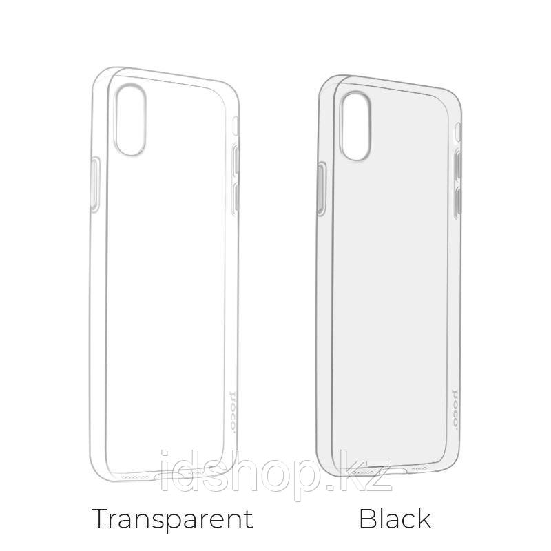 Чехол Hoco Light TPU для iPhone XS, прозрачный - фото 4