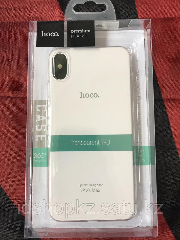 Чехол Hoco Light TPU для Iphone XS Max, прозрачный - фото 1