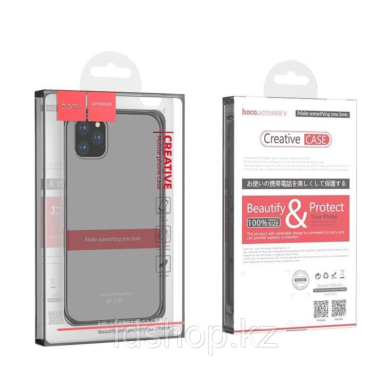 Чехол Hoco iPhone 11 Pro Max Light TPU, черный - фото 1