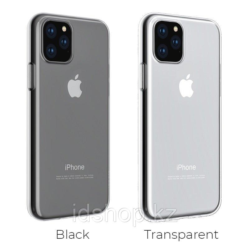 Чехол Hoco iPhone 11 Pro Max Light TPU, черный - фото 4