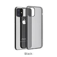 Чехол HOCO TPU Light Series для iPhone 11 черный прозрачный, 0,8 мм