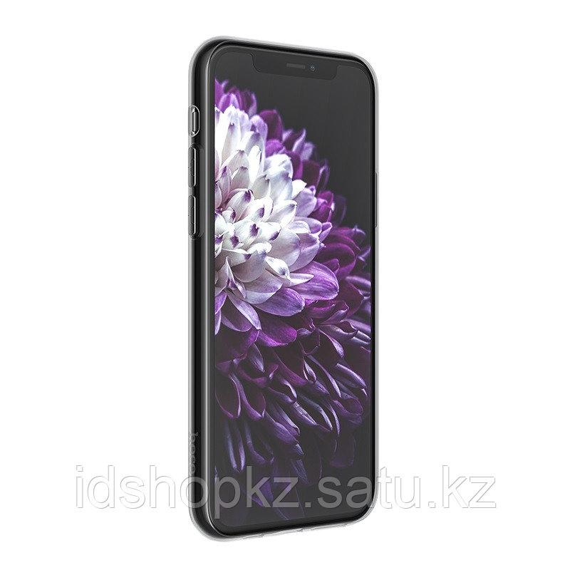 Чехол HOCO TPU Light Series для iPhone 11 черный прозрачный, 0,8 мм - фото 2