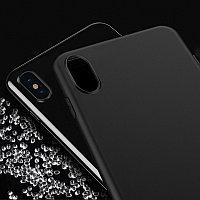 Чехол HOCO TPU Fascination Series для iPhone X черный, 0,8 мм