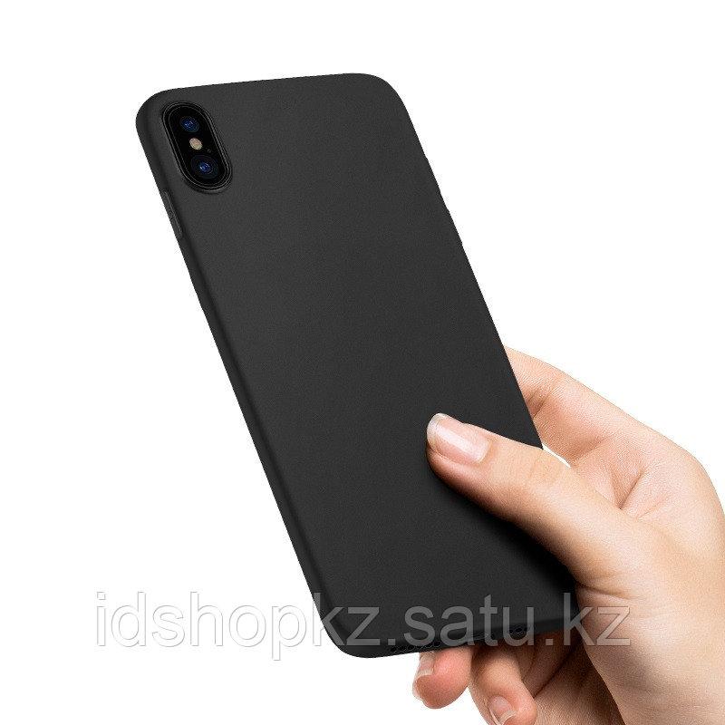 Чехол HOCO TPU Fascination Series для iPhone X черный, 0,8 мм - фото 2