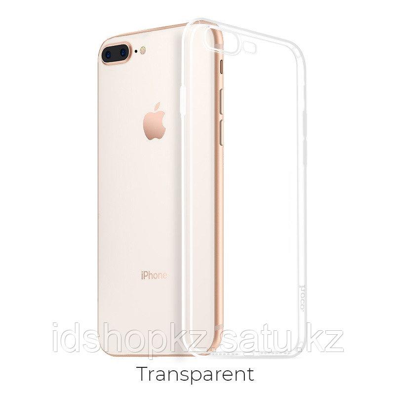 Чехол HOCO TPU Crystal clear Series для iPhone 7+/8+ прозрачный, 0,8 мм - фото 1