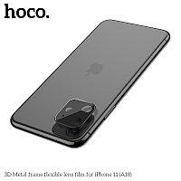 Защитное стекло HOCO A18 на объектив камеры для iPhone XR/11, черный