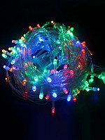 Гирлянда Лента 400 лампочек LED 15 м разноцветная