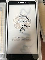 Защитное стекло Full Glue для Xiaomi Mi Mix 2, черный