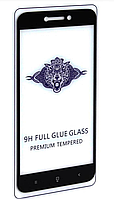 Защитное стекло Full Glue для Xiaomi Mi A1, белый