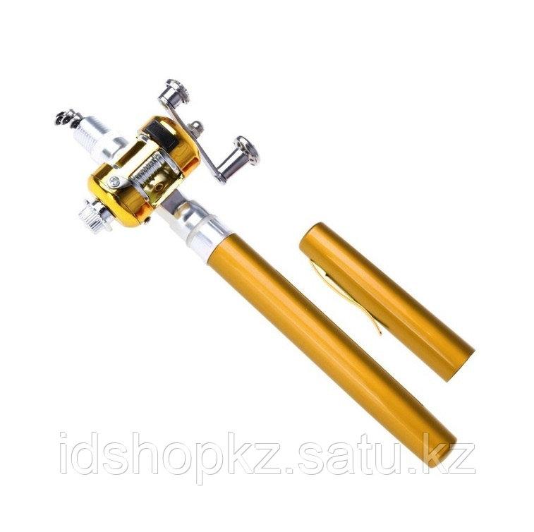 Складная удочка с катушкой Pocket Pen Fishing Rod - фото 1